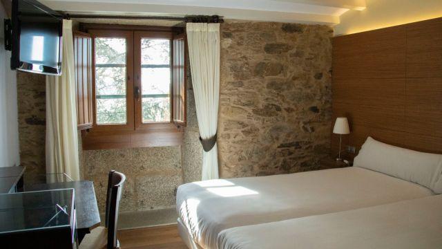 Habitación del nuevo hotel Alda Bonaval