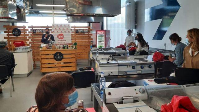 Sesión formativa en el Espacio Emprendedor e Innovación Alimentaria de Marín