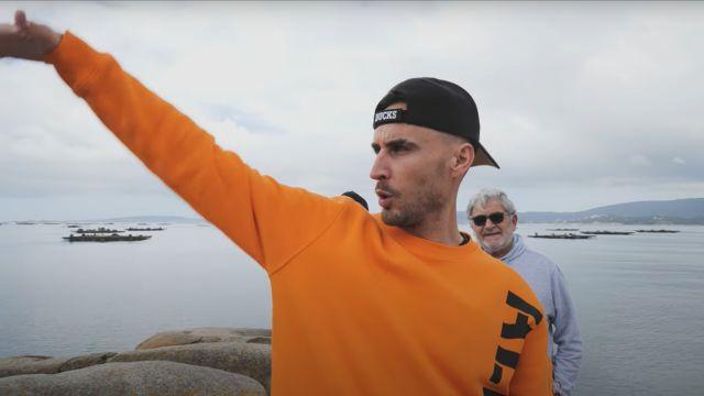 Captura de pantalla del videoclip