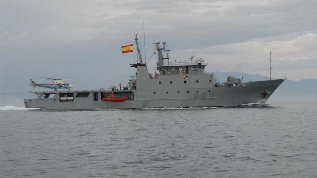 Patrullero de la Armada 'Arnomendi'.