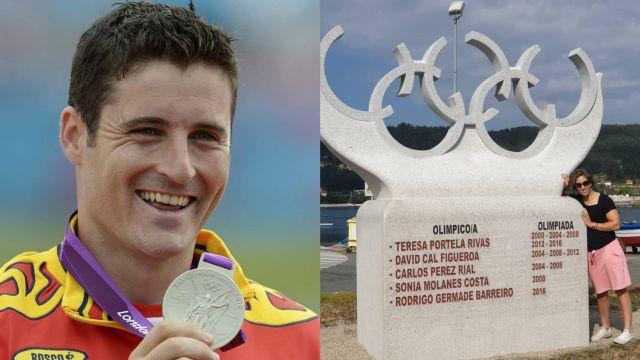 David Cal y Teresa Portela capitanean la representación histórica de Cangas en los Juegos Olímpicos
