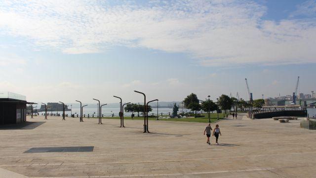 La zona de O Parrote, en A Coruña.