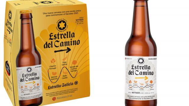 Estrella Galicia lanza la nueva edición especial y limitada de su cerveza 'Estrella del Camino'