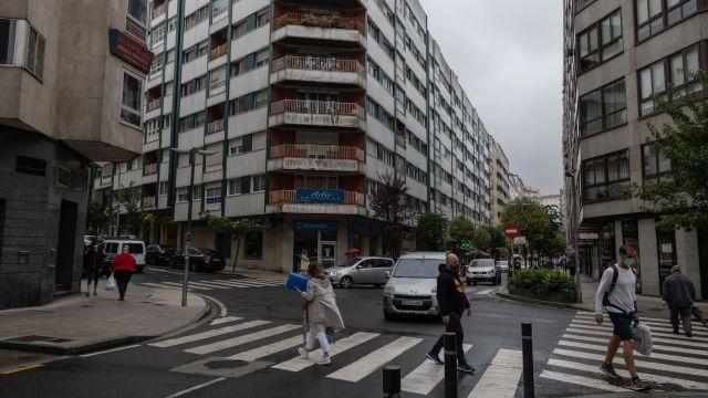 Calle de Fray Rosendo Salvado, epicentro de los pisos de estudiantes
