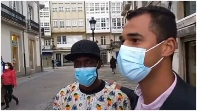 El joven senegalés que ayudó a Samuel.