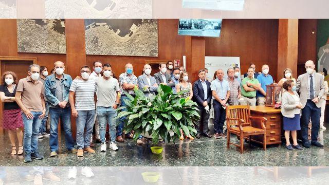 Imagen del homenaje a los trabajadores del Puerto Pesquero de Bouzas con motivo del Día del Carmen