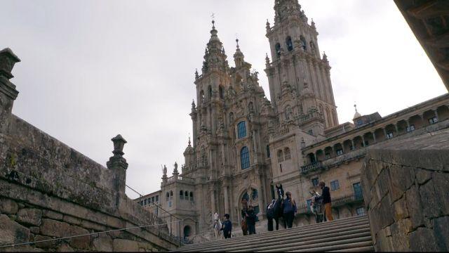 Imagen del programa de 'Viajeros Cuatro' sobre el Camino de Santiago