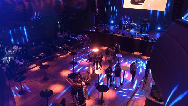 La sala Pelícano de A Coruña tras la reapertura del ocio nocturno en Galicia.