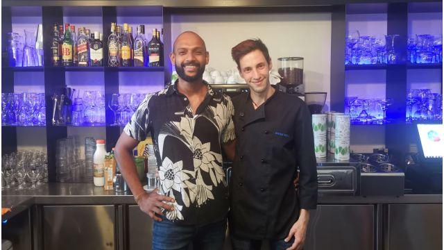 Anthony y Daniel, del Bico bar.