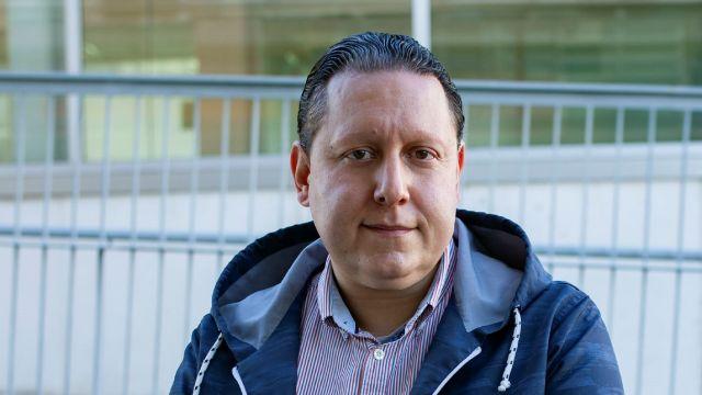 El director de la Cátedra ITG-CITIC en Tecnoloxías de Aeronaves non Tripuladas, Marcos Ortega.