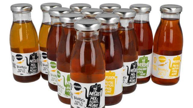 Los tés listos para beber de Bilúrico.
