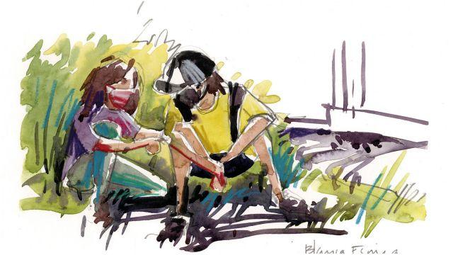 Ilustración de Blanca Escrigas.