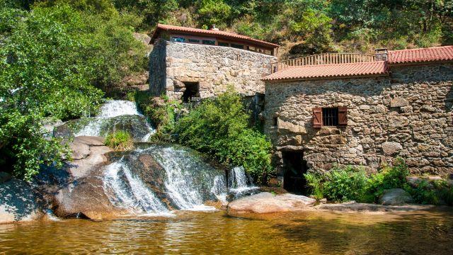 Molinos del Río Barosa, en Barro (Pontevedra).