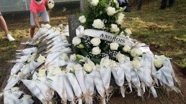 Homenaje a las víctimas del accidente del Alvia.