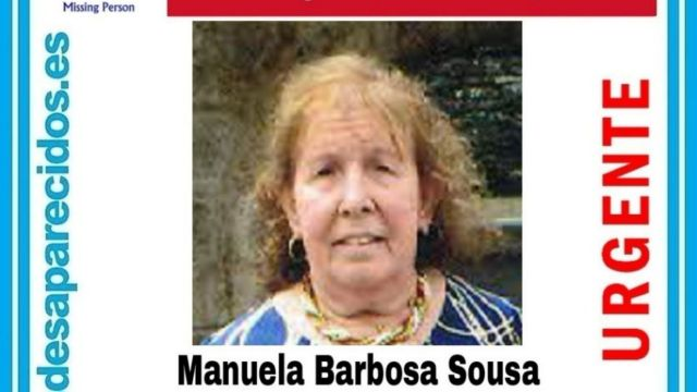 Manuela Barbosa Sousa, desaparecida en Arcade (Pontevedra).