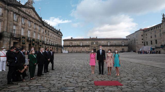 Visita de la familia real a Santiago por el Apóstol.