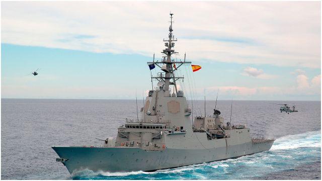 Fragata 'Almirante Juan de Borbón'.