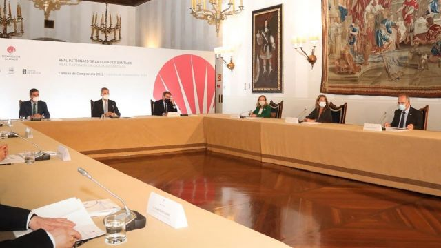 La reunión del Real Patronato de Santiago.