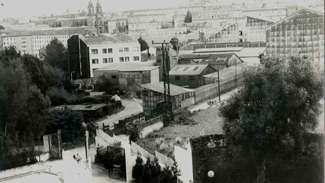 Fundiciones Franco, en el Carme de Abaixo de Santiago de Compostela.