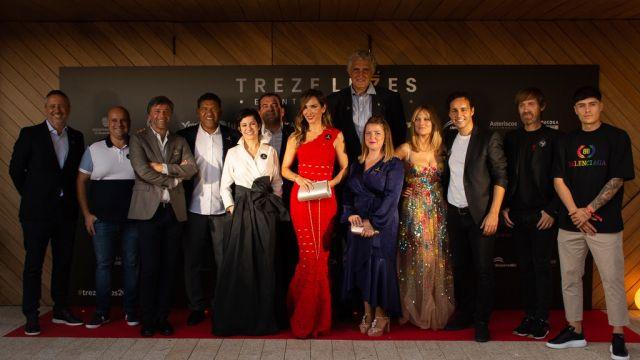 Embajadores del evento solidario de Trezeluces 2021.