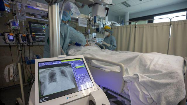UCI del Hospital Clínico de Santiago.
