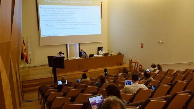 La UVigo celebra la última sesión del consejo de gobierno de este curso.