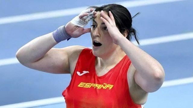 Belén Toimil en el Europeo de atletismo
