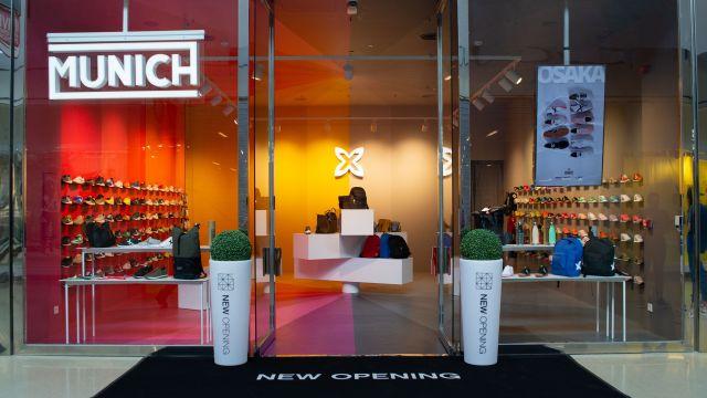 La tienda Munich en Coruña The Style Outlets.