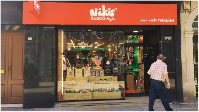 La nueva tienda de 'Nikis' en Ferrol.