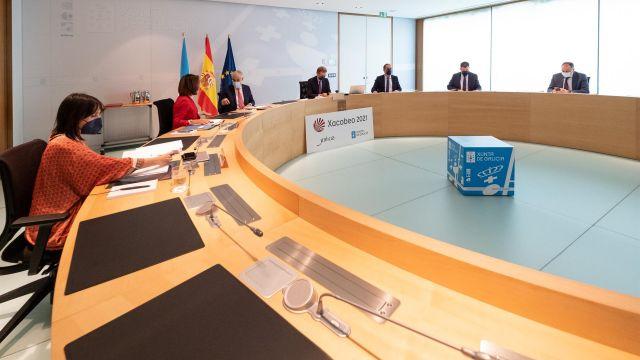 Reunión del Consello de la Xunta.