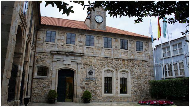 Fachada del edificio municipal.