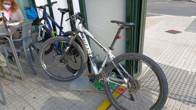 Las dos bicicletas robadas en O Ventorrillo