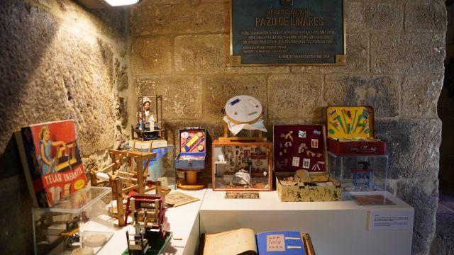 El Museo del Juguete, en el Pazo de Liñares de Lalín