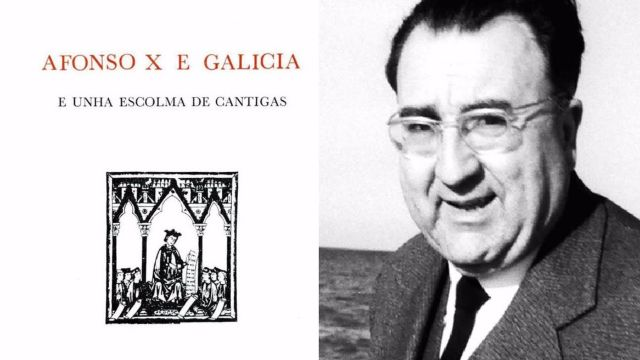 Afonso X e Galicia: e unha escolma de cantigas, edición de Xosé Filgueira Valverde