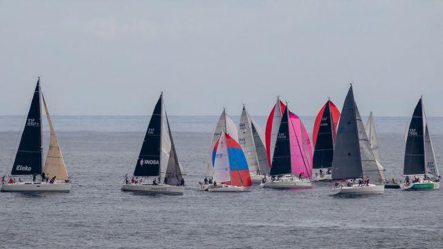 Última etapa de la regata Mal de Maeloc Rías Altas