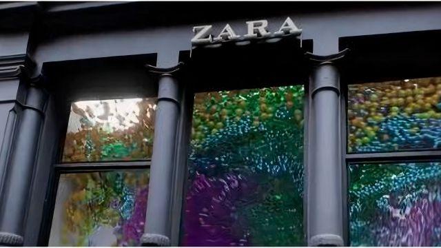 El escaparate 3D de Zara en el barrio del Soho (Nueva York).