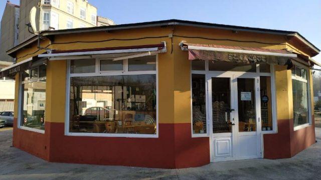 Cafetería del Parque das Pombas.
