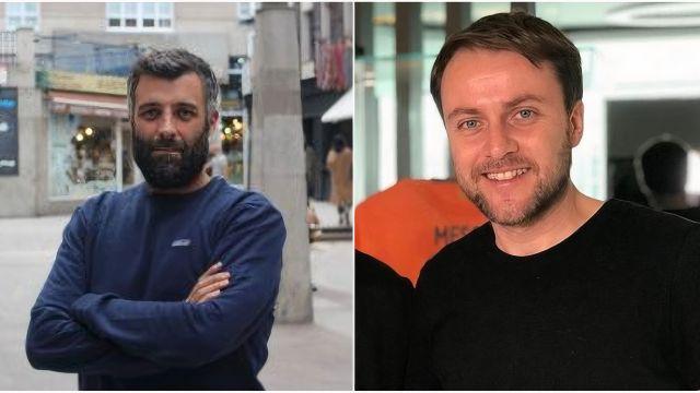 Los periodistas Nacho Carretero y Arturo Lezcano.