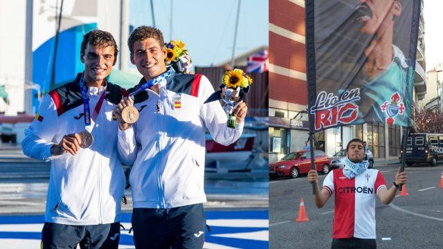 Nico Rodríguez y Jordi Xammar, medalla olímpica para Vigo