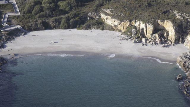Playa de Paxariñas.