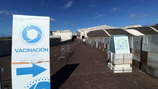 El Gaiás es uno de los centros de vacunación contra la Covid-19 de Galicia.