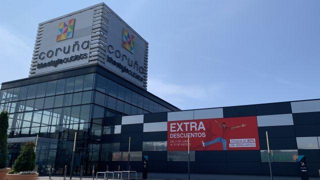 El centro comercial Coruña The Style Outlets.