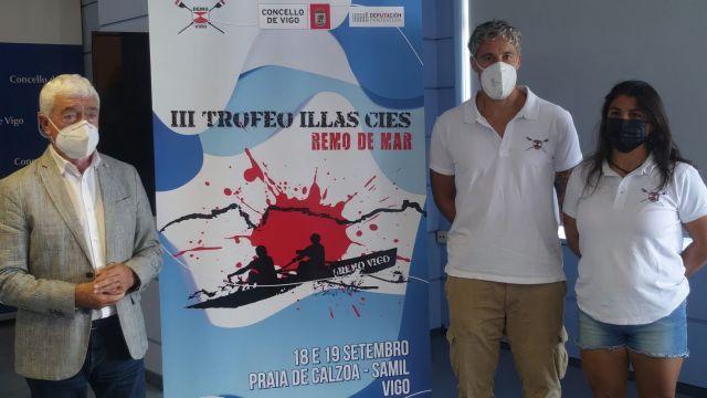 Presentación del Trofeo en el Concello de Vigo.