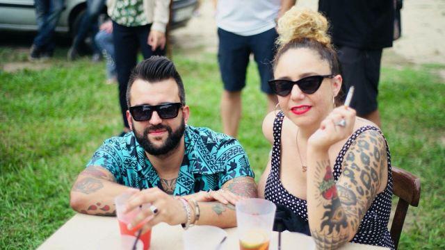 Santiago y Cecilia Paredes, creadores de 'Culebra Studio'