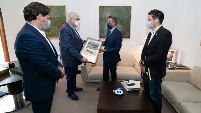 Recibimiento de la Fundación Terra Nova (Panamá)