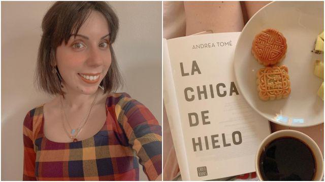 Andrea Tomé y su séptima novela.
