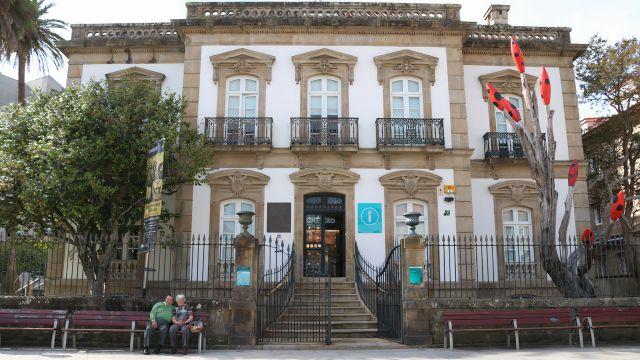 Palacete das Mendoza, sede de Turismo Rías Baixas, en Pontevedra.