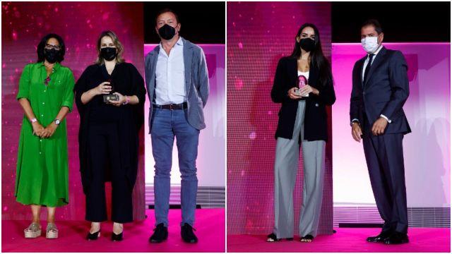Adolfo Domínguez y Velca se alzaron con dos de los primeros premios (Foto: https://www.premiosnacionalesdemarketing.es)