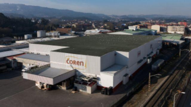 Fábrica de Frigolouro en O Porriño (Pontevedra)