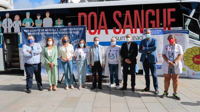 Conmemoración del Día Mundial del Donante de Médula en Vigo